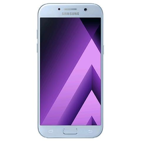 "SAMSUNG Galaxy A5 (2017) Blu 32 GB 4G/LTE Display 5.2"" Full HD Slot Micro SD Fotocamera 16 Mpx Android Europa"