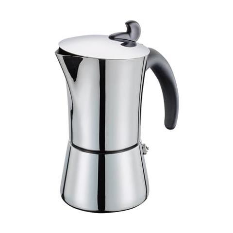 Image of Caffettiera Espresso Giovanna Lucida Per 6 Tazze Per Induzione