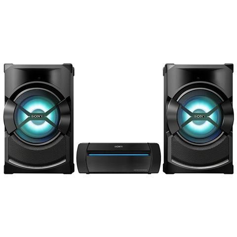 SONY Sistema Audio Shake-X3D Lettore DVD Radio FM Potenza Totale 1200W Bluetooth NFC