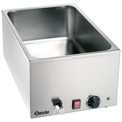 200240 Bagnomaria GN1/1 H150 mm con rubinetto di scarico 1.2 kW