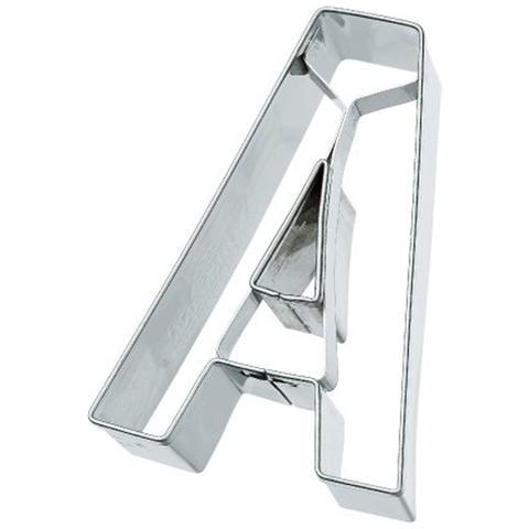 Tagliapasta Lettera A In Metallo 6 Cm