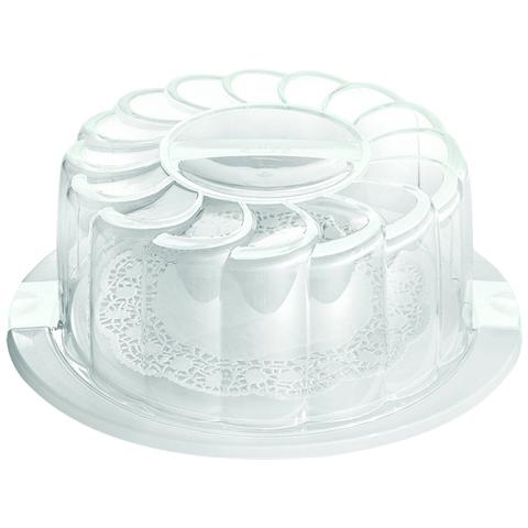 Porta Torta Diametro 28 cm Colore Bianco