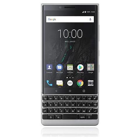 BlackBerry Key 2 4.5'''' 4G 6GB 64GB 3500mAh Argento Key 2, 11,4 cm (4.5''''), 6 GB, 64 GB, 12 MP, Android 8.1, Argento''