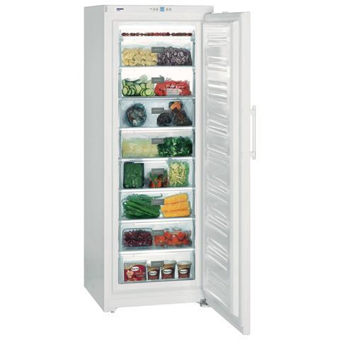 Congelatore Verticale GP 4013 SmartFrost Classe A+++ Capacità Lorda / Netta 413/406 Litri Serie Comfort Colore Bianco