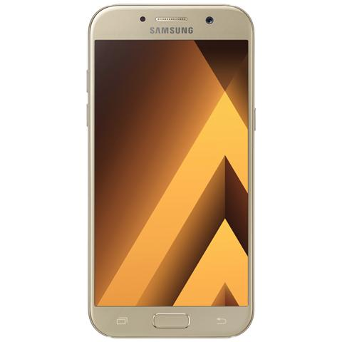 "SAMSUNG Galaxy A5 (2017) Oro 32 GB 4G/LTE Display 5.2"" Full HD Slot Micro SD Fotocamera 16 Mpx Android Europa"