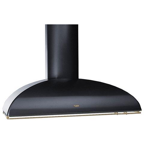 SMEG - Cappa KS89POE a Parete da 90 cm Aspirante Colore Nero Antracite  Estetica Coloniale 51e7b9b50741