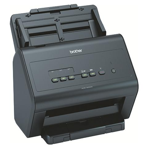 Image of ADS-3000N Scanner Desktop Compatto A4 a Colori 1200x1200 Dpi Usb 3.0