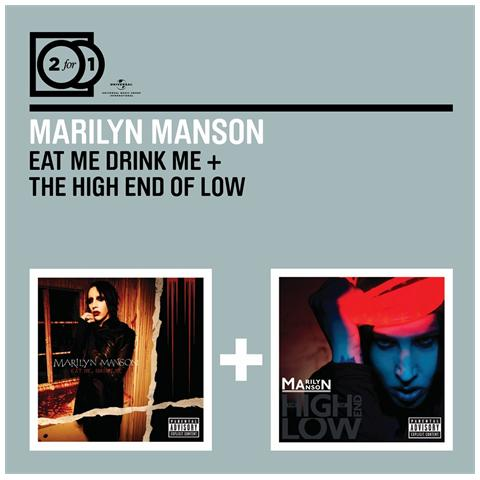 UNIVERSE Marilyn Manson - Eat Me Drink Me / The High End Of Low