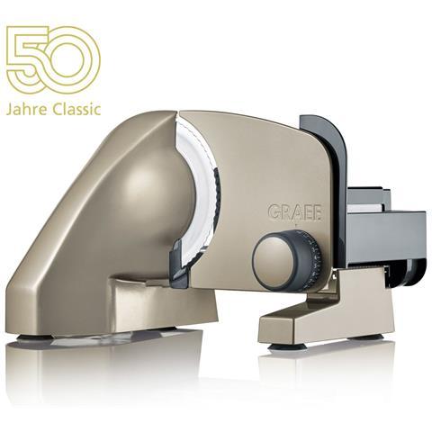 Affettatrice Classic C15 Anniversary Edition Diametro 17 cm Potenza 170 Watt Colore Champagne / Oro