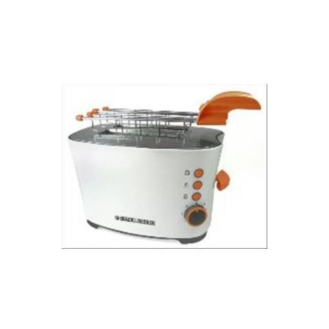 BD T700 Tostapane Potenza 650 Watt Colore Bianco / Arancio