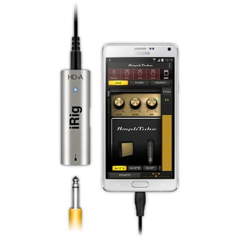 IK MULTIMEDIA iRig HD interfaccia lightning / 30pin per chitarra o basso (new pack)