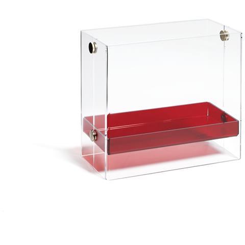Emporium Portariviste Bibai Metacrilato Rosso Componenti D'arredo Design