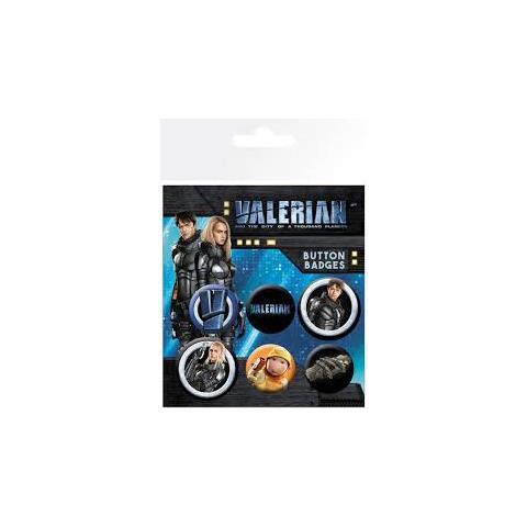 GB EYE Valerian - Mix (badge Pack)