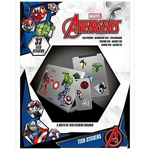 Marvel Kit Di Adesivi, Multicolore, Ts7404