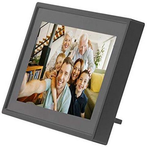 PFF-711 BLACK. Cornice digitale con Wi-Fi. 7 Pollici. Timer. Software fotografico per invi...
