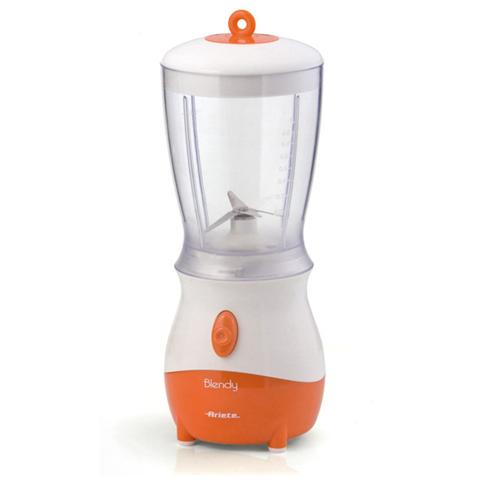 Blendy Frullatore Capacità 0.8 Litri Potenza 250 Watt Colore Bianco / Arancione