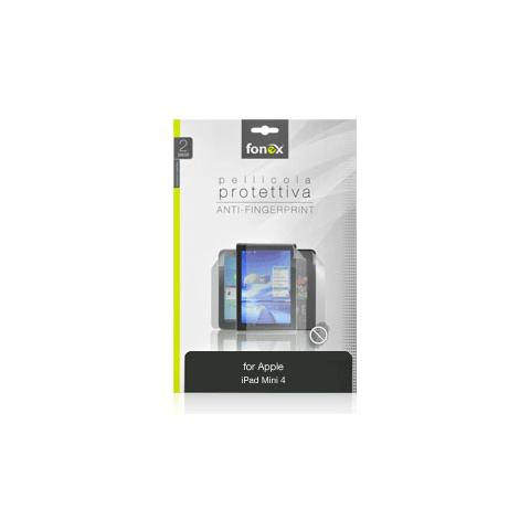 FONEX Pellicola Protettiva Anti Impronta per iPad Mini 4 (2Pz)
