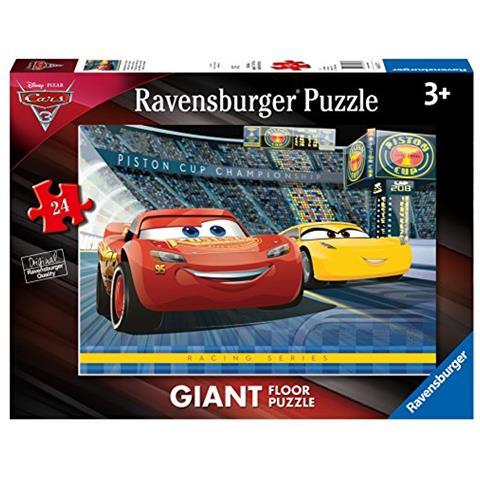 RAVENSBURGER Puzzle da Pavimento Cars 3 24 pz 05517