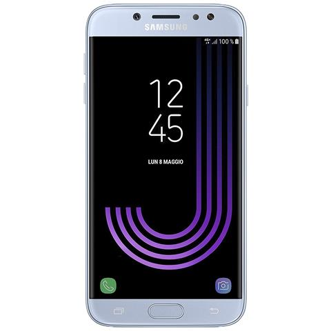 Galaxy J7 (2017) Blu Dual Sim 16GB 4G / LTE Display 5.5'' Full HD Octa Core Slot MicroSD Fotocamera 13Mpx Android - Tim Italia
