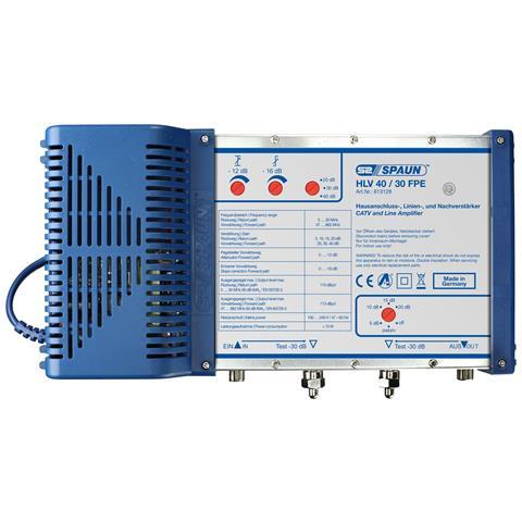 Spaun HLV 40/30FPE, 13W, 100 - 240V, 47 - 63 Hz, -20 - 50 C, 260 x 130 x 52 mm, Blu