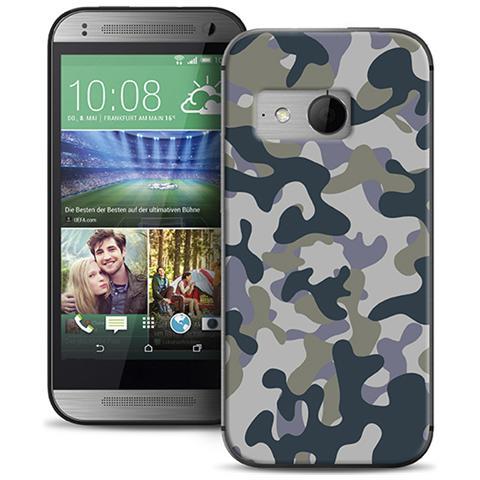 PURO Tpu Cover Htc One Mini 2 W / screen Protector ''army''
