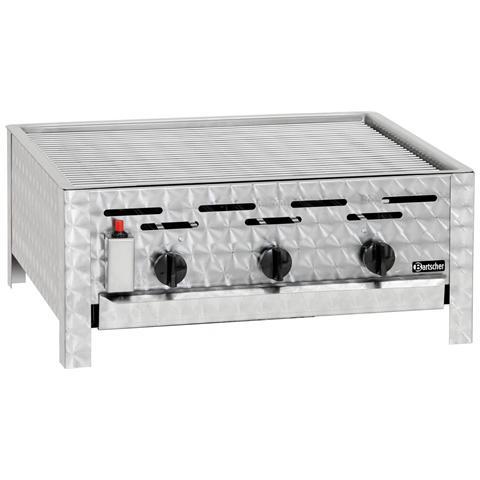 1062303 Grill a gas da tavolo 3 fuochi 11 kW