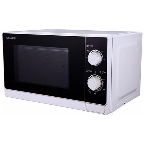 Forno Microonde R600WW con Grill Capacità 20 Litri Potenza 800 Watt Colore Bianco