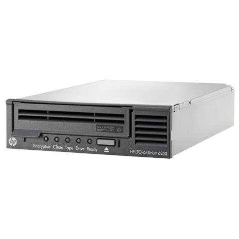Hewlett Packard Enterprise StoreEver LTO-6 Ultrium 6250, 5.25'' x 1/2H, Serial Attached SC...