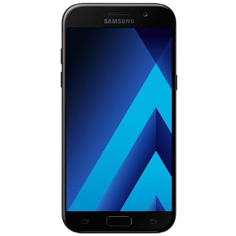 "SAMSUNG Galaxy A5 (2017) Nero 32 GB 4G / LTE Display 5.2"" Full HD Slot Micro SD Fotocamera 16 Mpx Android Europa"