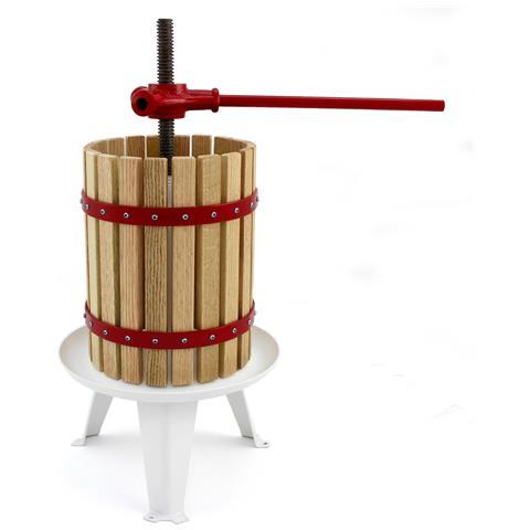 Pressa Per Frutta 6 Litri Per Fare Succo Sidro E Vino
