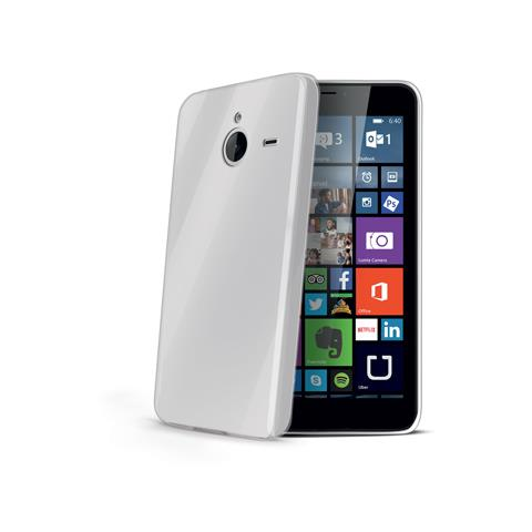 CELLY Tpu Cover For Lumia 640 Xl Bk