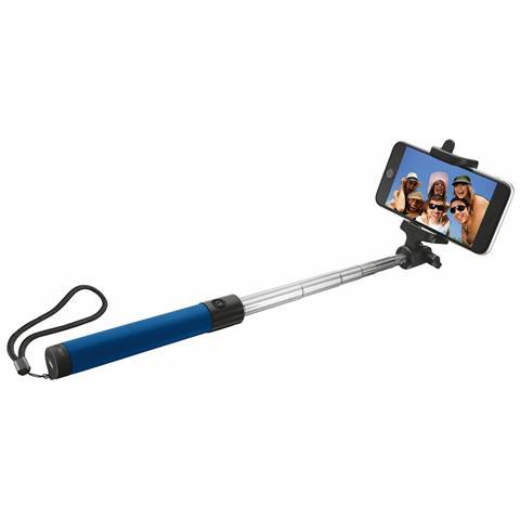 TRUST URBAN Asta per Selfie Wireless Colore Blu