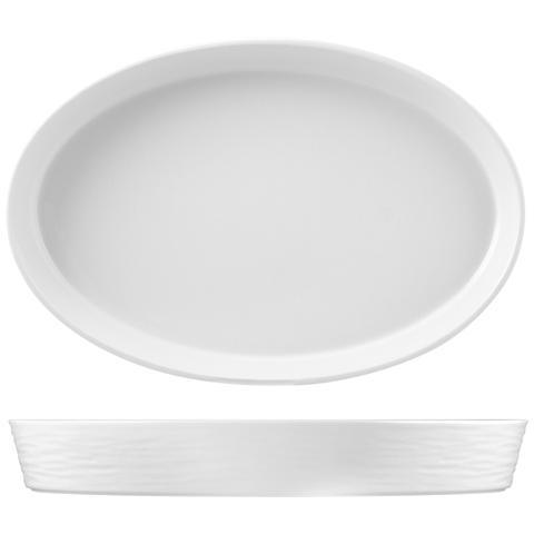 Hotelware Pirofila Porcellana Ovale 45x29xh6 Strumenti Da Cucina