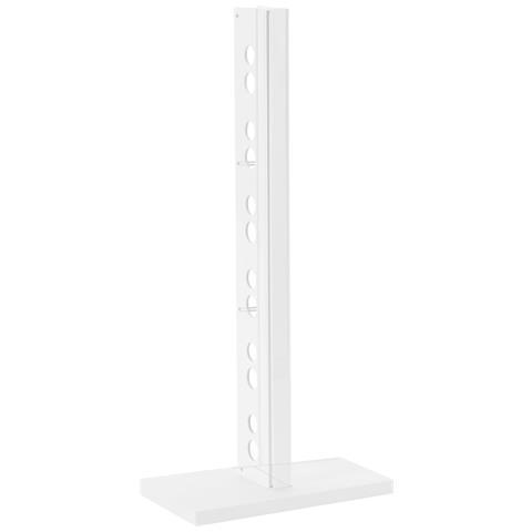 Emporium Portabottiglie Perbacco Metacrilato Legno Bianco Satinato Componenti D'arredo Design