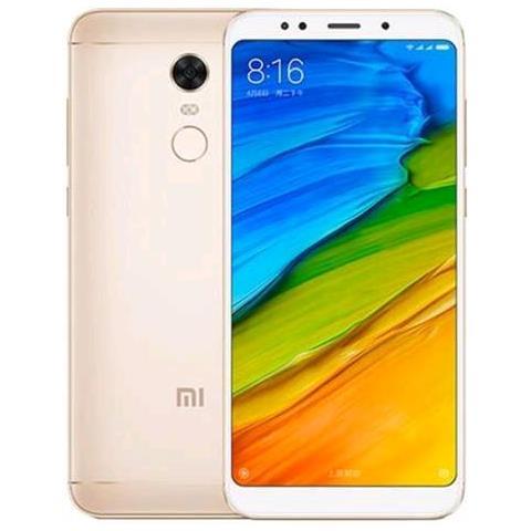 """XIAOMI Redmi 5 Plus Oro 64 GB 4G / LTE Dual Sim Display 5.99"""" Full HD+ Slot Micro SD Fotocamera 12 Mpx Android Italia"""