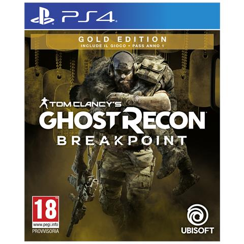 UBISOFT PS4 - Ghost Recon Breakpoint Gold Edition