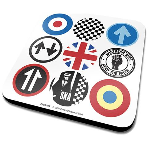 Mod And Ska Icons (sottobicchiere)