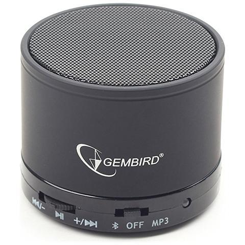 Gembird Speaker Wireless Bluetooth SPK-BT-03 Colore Nero