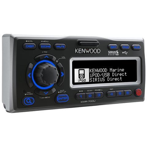 KENWOOD ELECTRONICS KMR-700U, LCD, 50W x 4, 200W