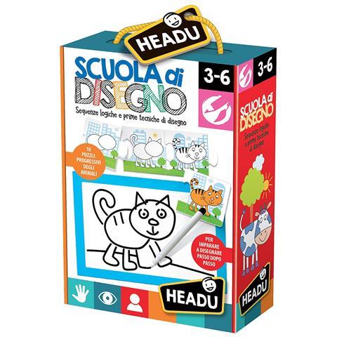 Headu Giochi educativi It20522 - Scuola Di Disegno