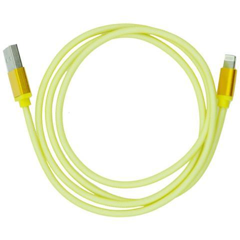 P.t.h.Gsm Cavo Magnetico Usb - Apple Iphone 5/5c / 5s / 6/6 Plus 20 Cm Oro