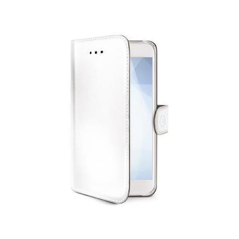 CELLY Flip Cover Custodia Case per Galaxy S9 colore Bianco