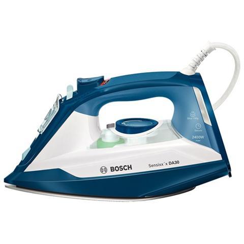 BOSCH TDA3024110 Sensixx'x DA30 Secure Ferro Da Stiro Potenza 2400 Watt Colore Blu / Bianco