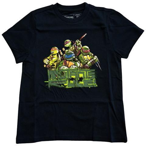 BIOWORLD Teenage Mutant Ninja Turtles - Blue Mutants Rule! (T-Shirt Bambino Tg. 152/158)