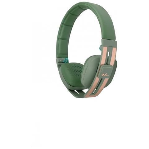 WIKO WiShake Cuffie Bluetooth colore Khaki