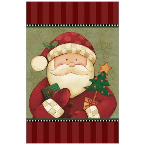 Amscan Accessori Arredo Party Natale, Tovaglia Plastica Santa Claus *19172