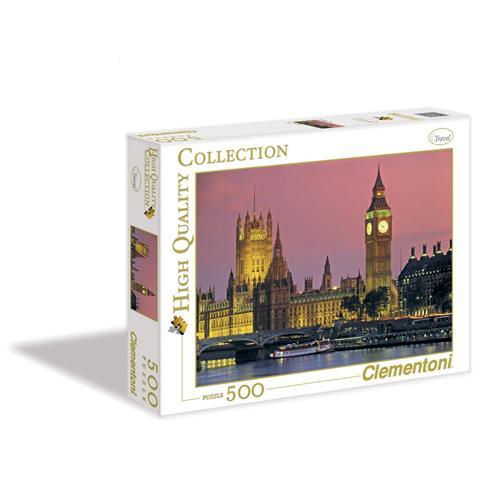 CLEMENTONI Puzzle Travel London 500 pz 34.4 x 25.4 x 4.6 cm 30378