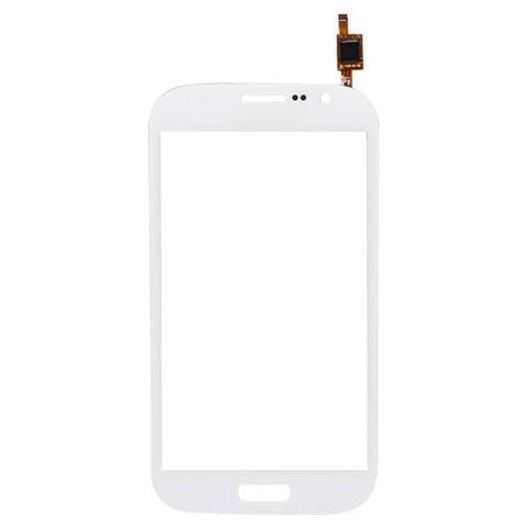 BOMA Schermo Vetro Touch Screen Samsung Galaxy Grand Duos I9082 I9080 I9128 Bianco