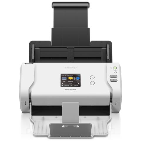 BROTHER Scanner ADS-2700W A4 35 ppm Wi-Fi Ethernet USB 2.0