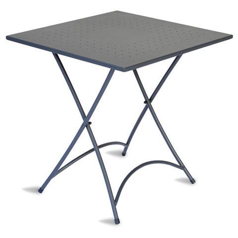 Tavolo da Giardino Pieghevole 70x70 cm